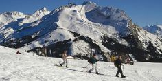 Ski touring in the #aravis massif ski resorts just 40 minutes from #LakeAnnecy
