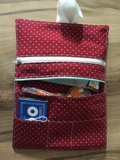 Schnittmuster für eine Tabaktasche aus Baumwolle, Canvas o.ä. Ein einfaches Schnittmuster. +++Für Anfänger geeignet+++ Sehr schnell genäht. Eine ausführliche Nähanleitung mit Fotos...
