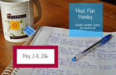 Darcie's Dishes: Meal Plan Monday: 5/2-5/8/16 ~ A one week meal plan that includes all meals, snacks and drinks. The meal plan is printable and has a companion shopping list that is printable too. All the guess work is taken out. It is 100% Trim Healthy Mama compatible.