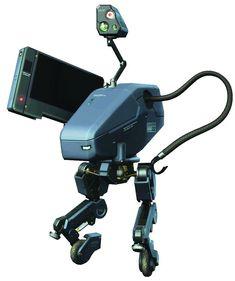 Metal Gear Mk. II from Metal Gear Solid 4