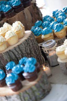 Wedding Wooden Cupcake Stand #DBBridalStyle