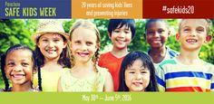 May June is Kids Safe Week in Canada 20 Years, June, Canada, Health, Kids, Children, Salud, Boys, Health Care