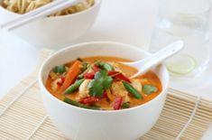 Thaisuppe med kylling og red curry fra Trines matblogg