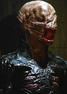 Chatterer Cenobite from Hellraiser.lol yes this is the right place for this pin haha Horror Icons, Horror Movie Posters, Horror Films, Zombies, Slasher Movies, Horror Pictures, Horror Monsters, Horror House, Famous Monsters