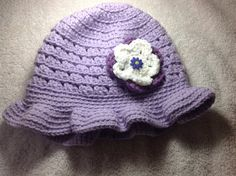 Crocheted Brimmed Hat Toddler - Adult Size on Etsy, $12.00