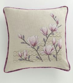 This Pin was discovered by Fey Butterfly Cross Stitch, Cross Stitch Rose, Cross Stitch Flowers, Cross Stitch Borders, Cross Stitching, Cross Stitch Patterns, Basic Embroidery Stitches, Hardanger Embroidery, Cross Stitch Embroidery