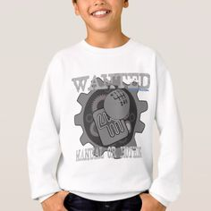 wanted manual or nothing(gearbox) sweatshirt