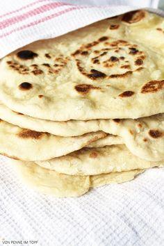 Indisches Naan - Brot