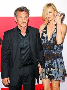 Star Tracks: Friday, March 13, 2015 | GUNNING FOR IT  | Also at the premiere, power couple Charlize Theron and the film's star, Sean Penn, keep each other close.