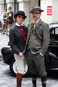 Notes of Style and Culture, London UK Preposity Vintage Outfits, Vintage Fashion, Vintage Style, Tweed Outfit, Tweed Ride, Cycle Chic, Gentleman Style, Party Fashion, Stylish Men