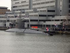 Royal Netherlands Navy Walrus class submarine hnlms bruinvis S810 /19/12/2012/ by philip bisset, via Flickr