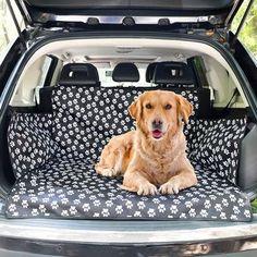KCASA Waterproof Dog Car Boot Liner Cover SUV Door Van Back Rear Cat Pet  USA