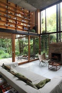 Rustic Home Design, Dream Home Design, Home Interior Design, Interior Architecture, House Design, Loft Design, Interior Ideas, Futuristic Architecture, Landscape Architecture