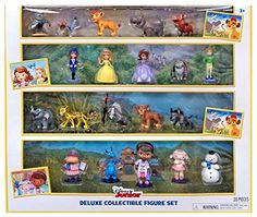 Includes 20 Characters from The Lion Guard Sophia the First and Doc McStuffins!...
