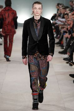 James Long Fall 2016 Menswear Fashion Show