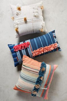 Anthropologie cushions