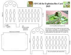 Lysa & Huey Ink!: Crib Explosion Box