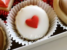 sweet and simple scalloped circles for valentine's day