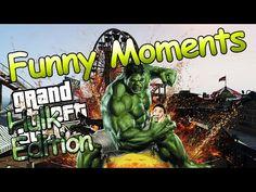 THE HULK VISIT TO THE FUN FAIR | Grand Theft Auto 5: Hulk Edition #2 (Hulk Mod Funny Moments fails) - YouTube