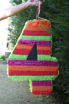 Large Number Four Pinata  Custom Number Pinata  by AbitaAchie, $40.00