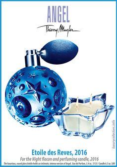 Angel Parfum, Angel Fragrance, Thierry Mugler Angel Perfume, Thierry Mugler Alien, Glass Bottles, Perfume Bottles, Stars At Night, The Collector, Glass Art