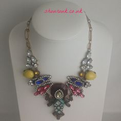 Megan  Statement  Necklace Simply Stunning would look great with any summer outfit from your wardrobe .