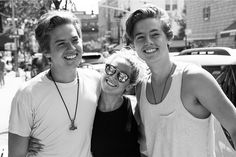 Ashley Tisdale, Dylan and Cole Sprouse. how the time flies ...