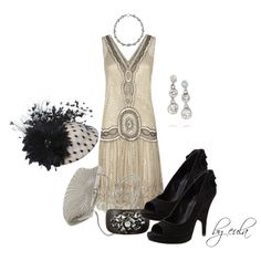 """The Gatsby Movie Premiere"" by eula-eldridge-tolliver on Polyvore"