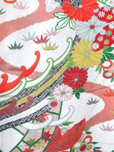 ☆ New Arrival ☆ 'Kyoto Garden' #charming #womens #silk blend #kimono #classic #floral #pattern from #FujiKimono http://www.fujikimono.co.uk/womens-kimono/kyoto-garden.html #kyoto #garden #textile #costume #fashion #kawaii #cosplay