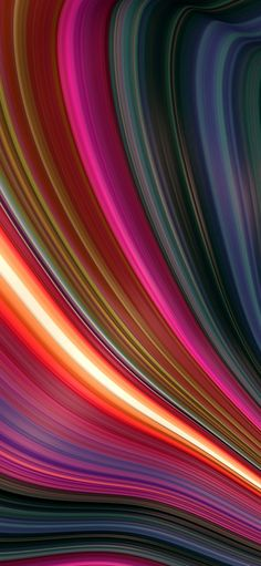 1125x2436 Sweeping lines, texture, multi-colors wallpaper