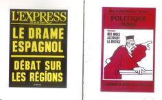 """""""París alrededor del 68"""" exposición de carteles de prensa Fundación Antonio Pérez Cuenca 1999 #FundacionAntonioPerez #Cuenca"""