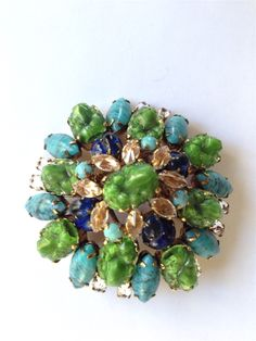 Unsigned Shreiner brooch from my personal collection