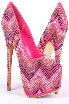 CORAL MULTICOLOR GEMSTONE ZIG ZAG PATTERN ALMOND TOE HIGH HEEL PUMPS,Stand out with these gorgeous sparkly heels! These heels are perfect for Vegas or any special events you are attending! Smooth faux suede upper with multicolor gemstones all over in a equalizer pattern with an almond toe shape.