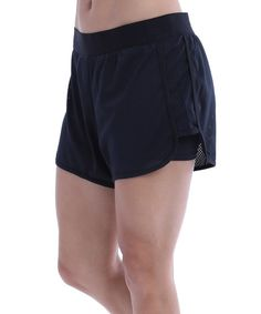 Black Flex Shorts | zulily