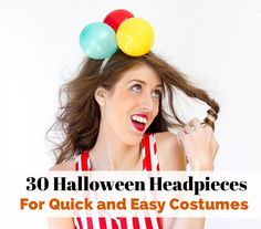 30 Halloween Headpieces For Quick and Easy Costumes | thegoodstuff