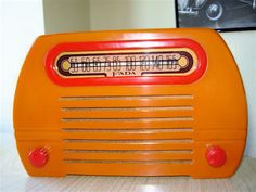 OK, so it is from 1946... close enough.  Some day I WILL own a FADA radio!  :)  #FADA #Radio