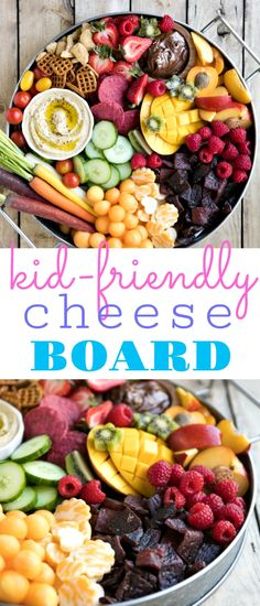 Bright colorful and jam-packed with delicious snacks both kids and adults will love this super easy Kid-Friendly Charcuterie Board will be the highlight of any party! Nutella Brownies, Healthy Eating Tips, Clean Eating Snacks, Snacks Für Party, Healthy Pumpkin, Food Platters, Charcuterie Board, Charcuterie Ideas, Yummy Snacks