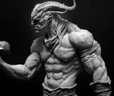 ArtStation - Old Sculptures, Rafael Grassetti Maybe something for 3D Printer Chat?