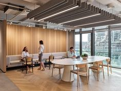 Beymen Group Offices - Istanbul - Office Snapshots Showroom Interior Design, Modern Interior Design, Interior Architecture, Commercial Design, Commercial Interiors, Design Ppt, Design Ideas, Modern Office Design, Office Ceiling Design