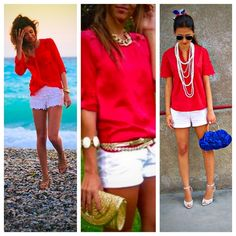 The Limited Red Eyelet Popover Top The Limited Red Eyelet Popover Top. EUC. Worn not more than 5 times. Super adorable! Perfect for spring/summer! Dress up or down! Buttons go down top half of shirt...not a complete button down. Stay cool in this shirt   Bundle with J.Crew Shorts & Isabel Toledo Wedges to complete the look. Gold clutch not for sale. The Limited Tops Blouses