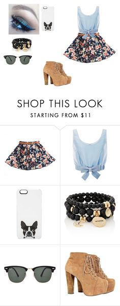 """Clara"" by panda-penguim ❤ liked on Polyvore featuring Honor, Casetify, The Limited, Ray-Ban, women's clothing, women, female, woman, misses and juniors"