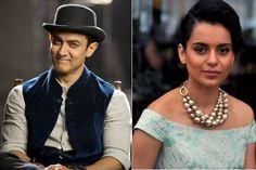 Did Kangana Ranaut cry on Aamir Khan's shoulder?