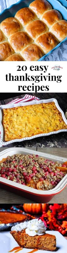 Don't be that person who brings boxed macaroni and cheese to Friendsgiving - these homemade Thanksgiving recipes are delicious, impressive and easy! No matter what you're put in charge of, from rolls to turkey to pie, we have a Thanksgiving. Easy Thanksgiving Recipes, Holiday Recipes, Recipes Dinner, Thanksgiving Drinks, Dinner Ideas, Low Carb Recipes, Cooking Recipes, Easy Recipes, Canning Sweet Potatoes
