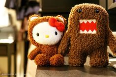 What's better than Hello Kitty? Hello Kitty dressed up as Domo Kun!