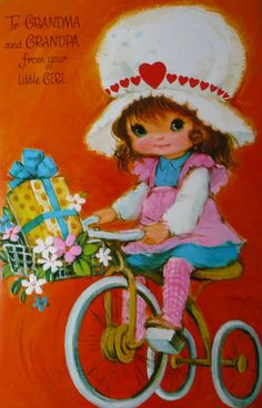 Vintage 1970's Valentines I gave one of these away back in the day... I think :)