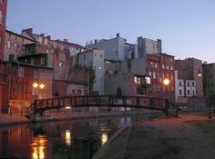 """""""Polish Venezia"""" in Bydgoszcz city"""