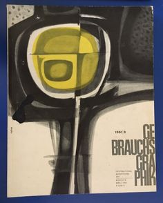 The 50 Watts tumblr — Vintage Gebrauchsgraphik magazine covers