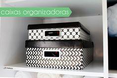 Como organizo meu ar