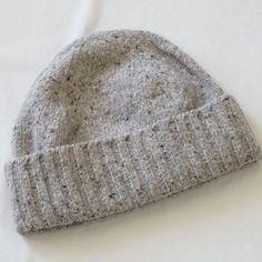 bc4c8a7a85d Murano Men s Confetti Gray Cuff Merino Wool Blend Beanie Hat One Size NWT   Murano