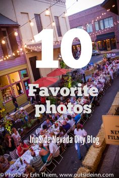 Top 10 Favorite photos of Nevada City from the InnSide Nevada City Outside Inn blog, photos by Erin Thiem, http://outsideinn.com/blog/top-10-favorite-photos.htm/